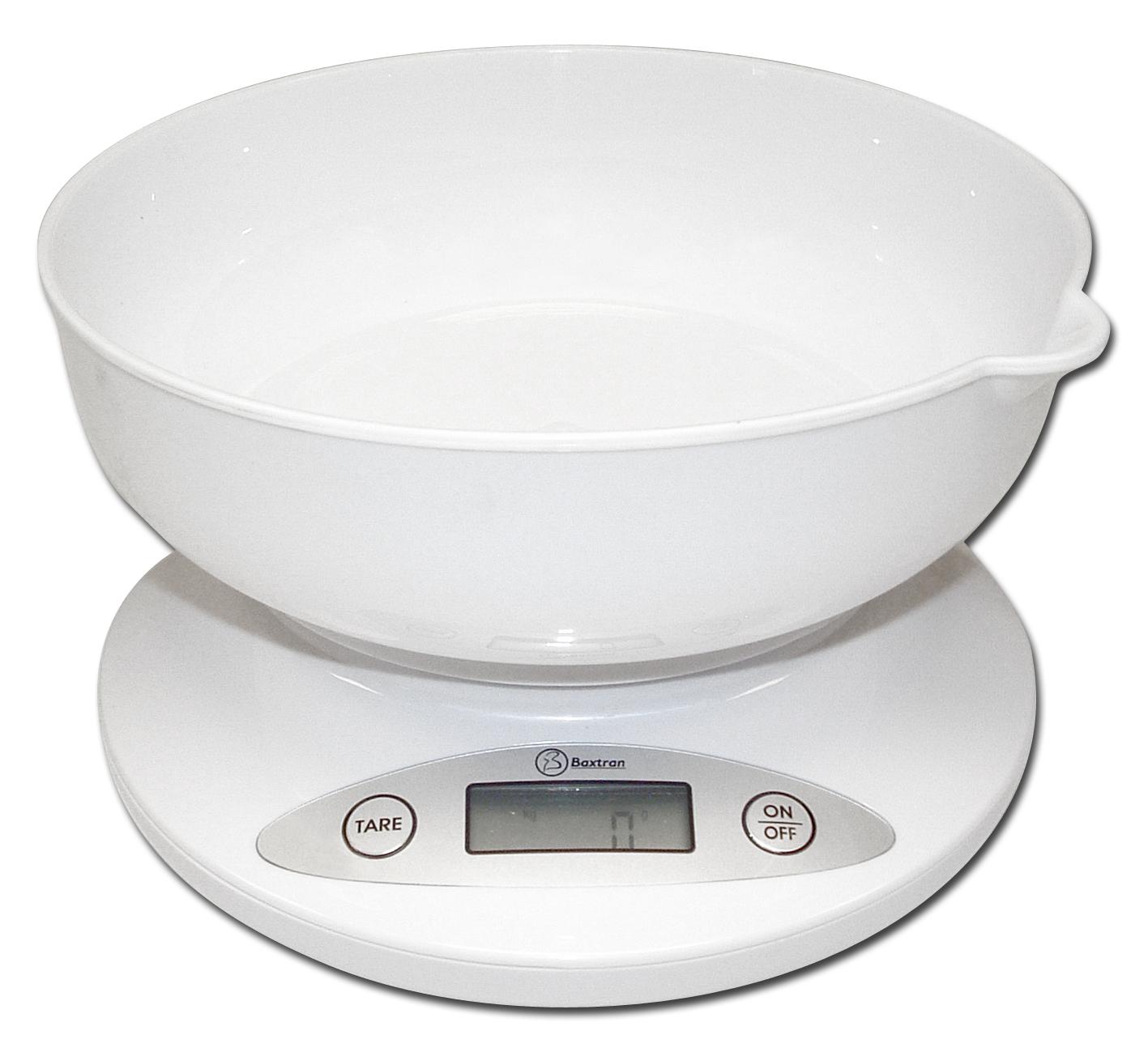 Balanza de cocina con recipiente baxtran bss la casa de for Balanza cocina 0 1 g