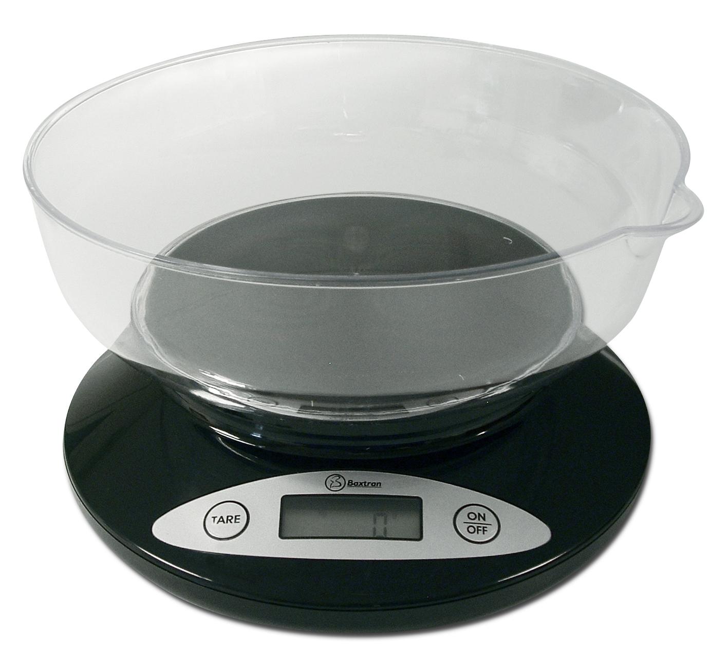 Balanza de cocina con recipiente Baxtran BSS - LA CASA DE LAS ...
